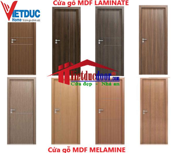 Các mẫu cửa chịu nước từ gỗ công nghiệp MDF