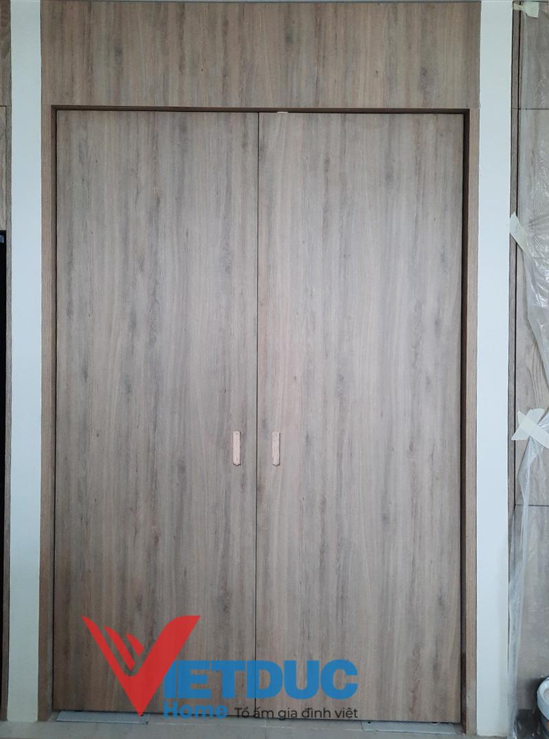 cánh cửa gỗ công nghiệp chất lượng
