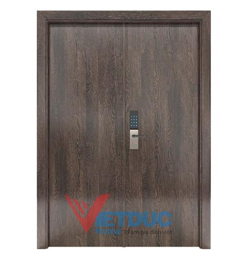 Mẫu cửa gỗ công nghiệp chống cháy VD-GCC-D19