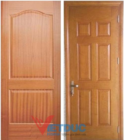 Mẫu cửa gỗ công nghiệp HDF đẹp