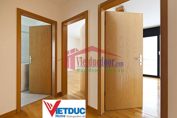 Cửa gỗ công nghiệp chuyên dùng chịu nước, chống thấm cho các công trình