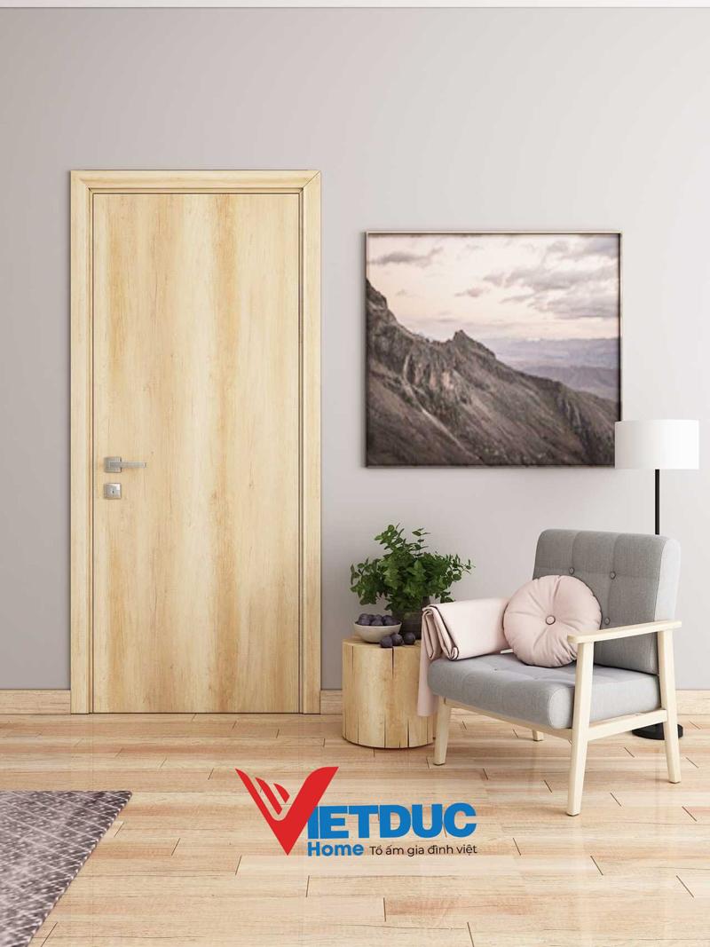cửa phòng gỗ công nghiệp đẹp