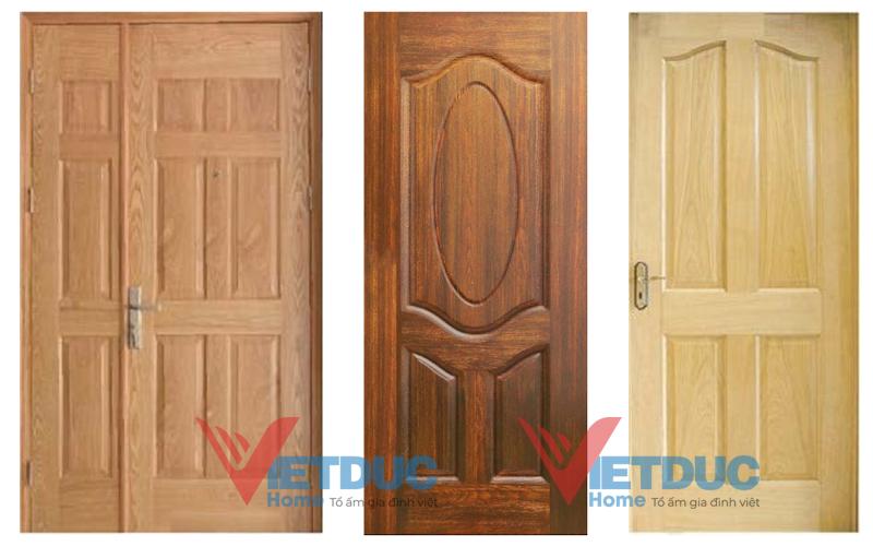 [Báo Giá] Cửa gỗ công nghiệp HDF đẹp các loại mới nhất hiện nay