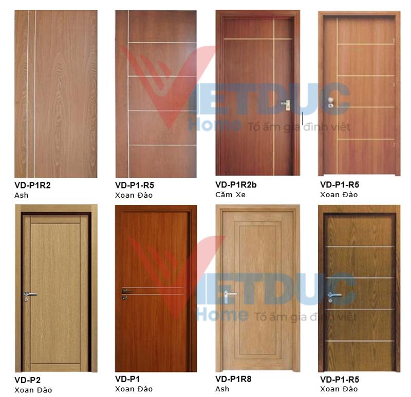 cửa gỗ công nghiệp MDF đẹp