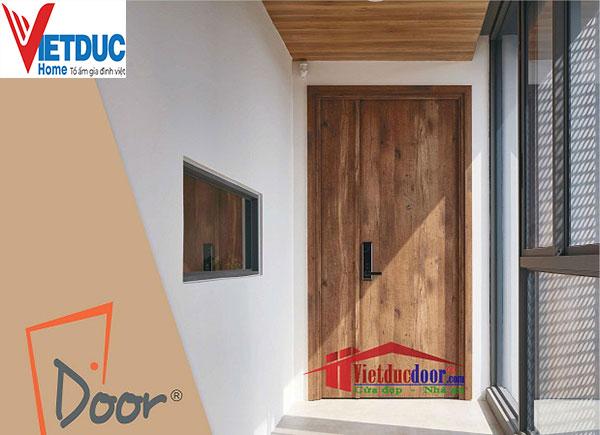 Thiết kế cửa gỗ công nghiệp chịu nước vô cùng đa dạng và bắt mắt