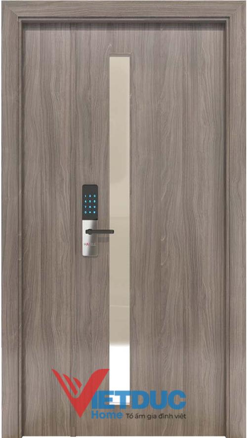 Cửa gỗ MDF Melamine có ưu điểm màu sắc đa dạng nhưng đơn giản, hiện đại