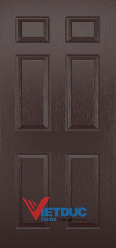 Mẫu cửa gỗ HDF Veneer VD-6A đẹp
