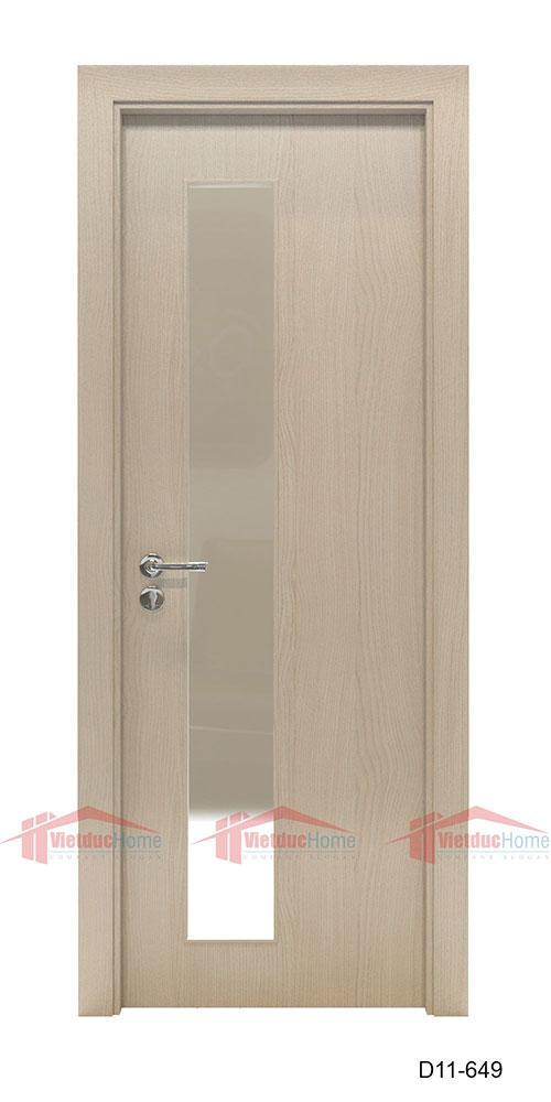 Loại cửa gỗ thông phòng cách âm, cách nhiệt tốt