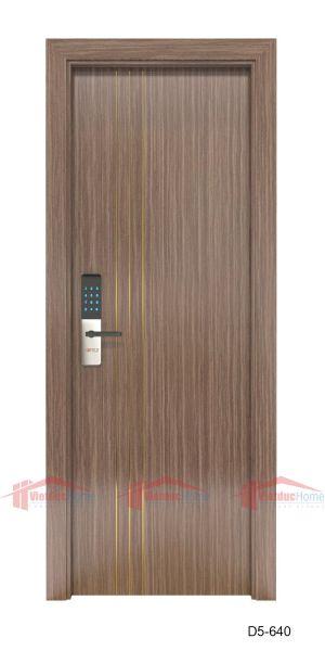 Mẫu cửa gỗ công nghiệp 1 cánh đẹp D5-640