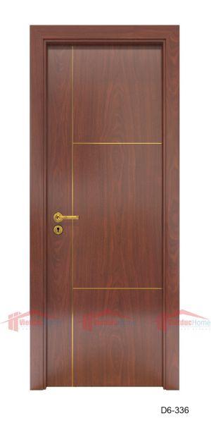 Mẫu cửa gỗ công nghiệp 1 cánh D6-336