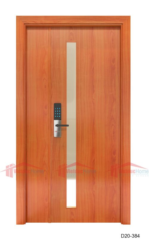 Cửa gỗ ép công nghiệp D20-384