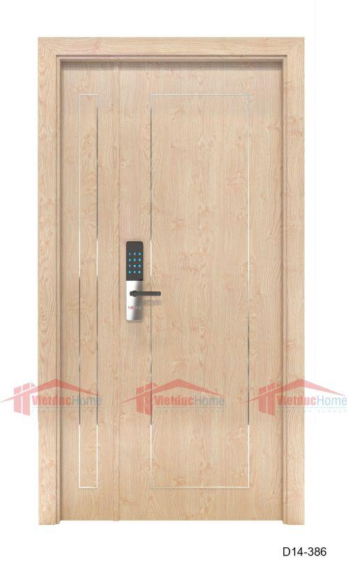 Cửa gỗ công nghiệp D14-386