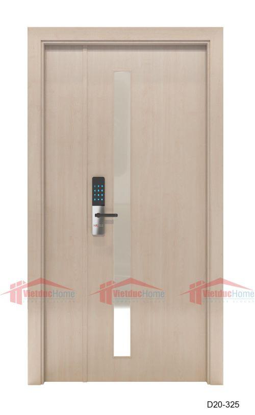 Cửa gỗ ép công nghiệp chất lượng D20-325
