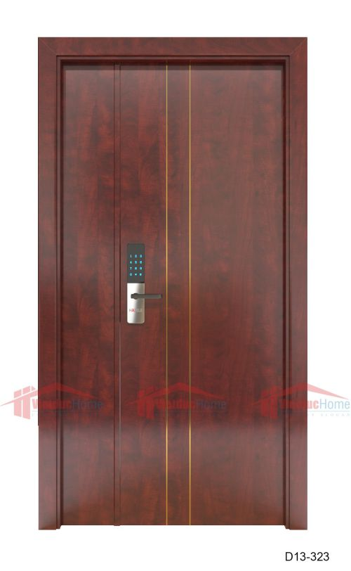 Mẫu cửa gỗ ép công nghiệp đẹp chất lượng cao B13-323