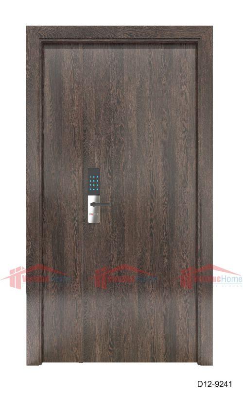 Cửa gỗ ép công nghiệp giả gỗ D12-9241