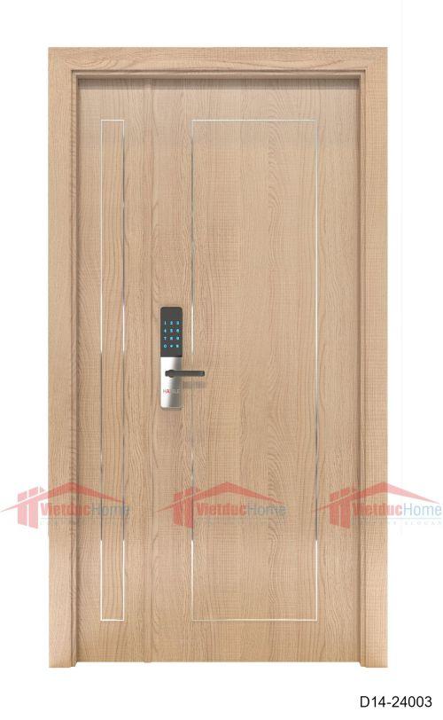 Cửa gỗ ép công nghiệp cao cấp D14-24003