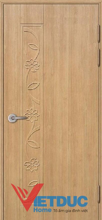 Mẫu cửa đi gỗ công nghiệp đẹp