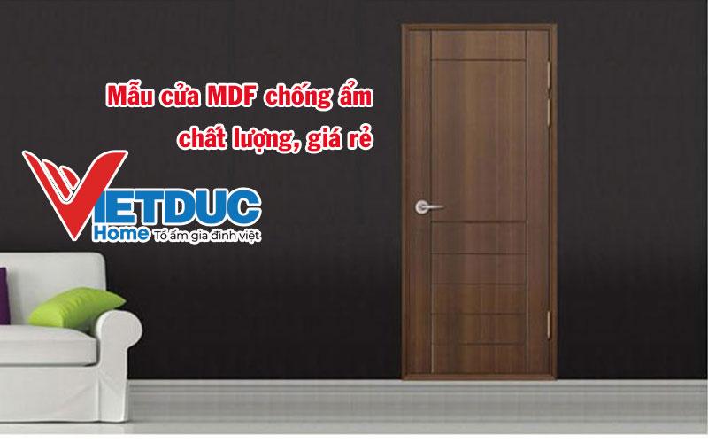 mẫu cửa MDF chống ẩm chất lượng, giá rẻ