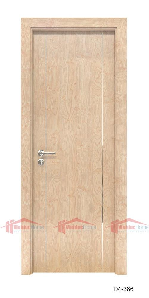Cửa gỗ công nghiệp HDF Veneer đẹp