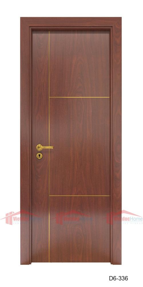 Cửa gỗ công nghiệp HDF Veneer chất lượng cao và đẹp