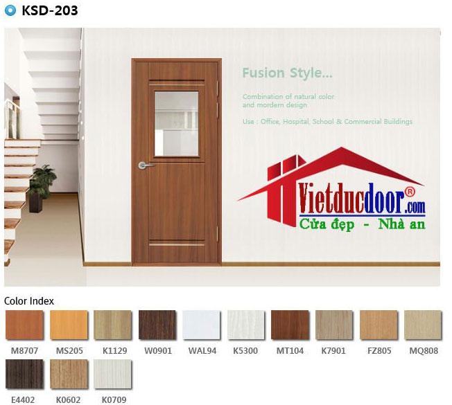Sự đa dạng màu sắc cửa cửa MDF chống ẩm
